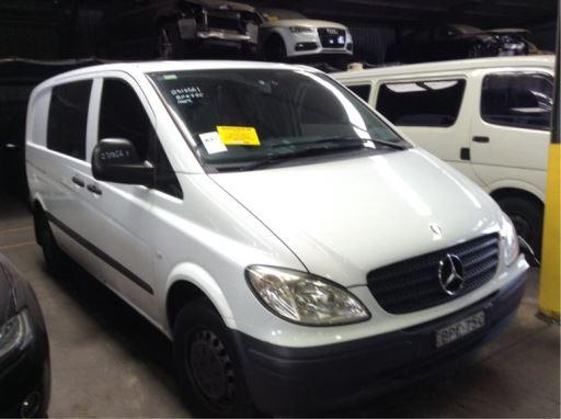 2008 MERCEDES-BENZ VITO 115CDI W639 OM646 980 – ASV Euro Car